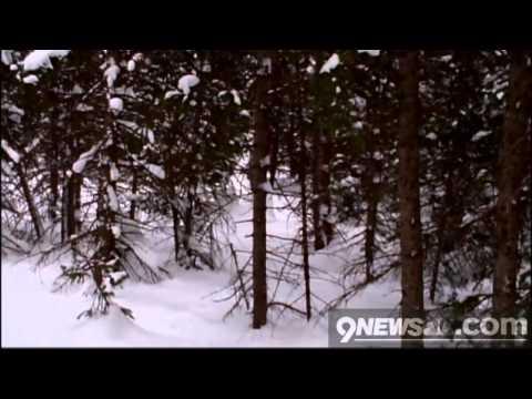 Snowshoeing near Breckenridge
