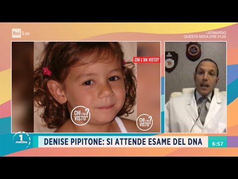 Denise Pipitone: si attende esame del DNA - Unomattina 06/04/2021