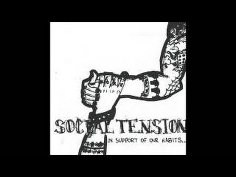 SOCIAL TENSION - Hail Mary: 420 (CAN) Montreal 90's Punk