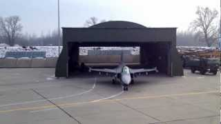 Hungarian Air Force TANGO Alert Training - Saab JAS 39 Gripen Engine Start - Takeoff