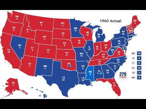 Presidential Election Final Results Maps YouTube - Us election 2016 results map