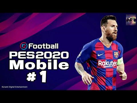 Прохождение игры PES Mobile 2020 : # 1 . Весёлое начало . Diego Maradona 90 .