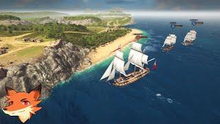 Ultimate Admiral: Age of Sail [FR] Gérez votre flotte et votre armée!