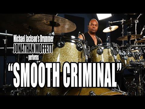 "Michael Jackson's Drummer Jonathan Moffett Performs ""Smooth Criminal"" On Drumeo!"