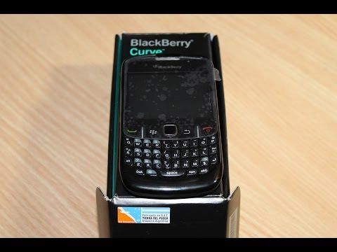 Blackberry curve 8520 unbox and review 2014