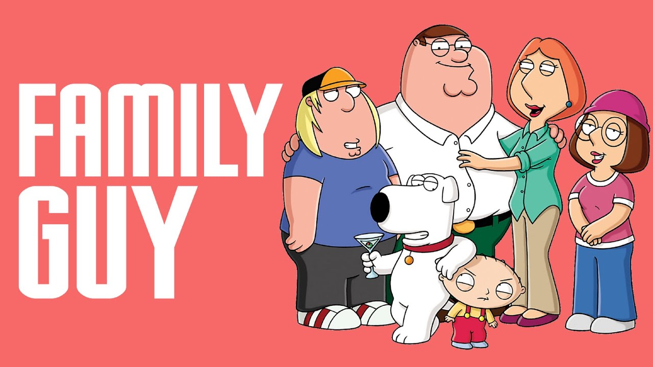 the griffin family in family guy an american television show