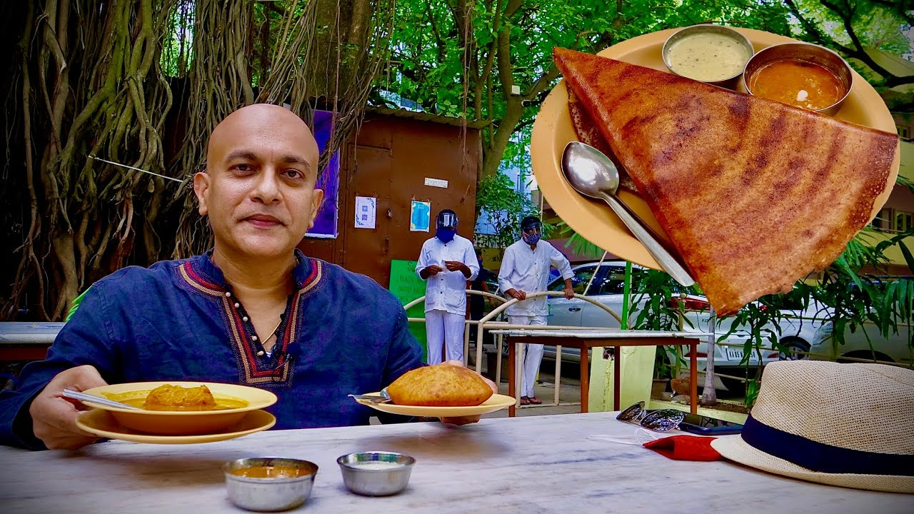 AIRLINES HOTEL | Bengaluru's Most Popular Outdoor Eatery | Butter Masala Dosa, Mangalore Buns & More
