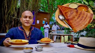 AIRLINES HOTEL Bengaluru s Most Popular Outdoor Eatery Butter Masala Dosa Mangalore Buns More