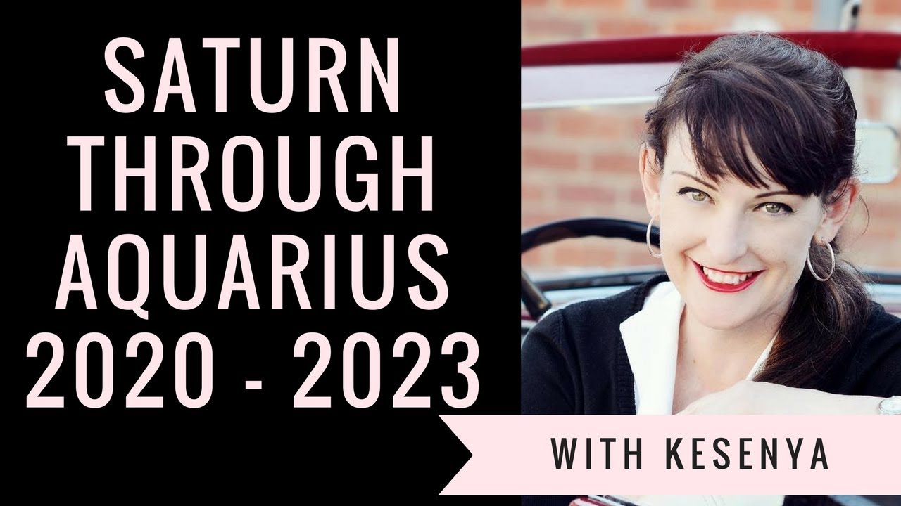 Saturn Transits the Houses (Aquarius 2020 - 2023)