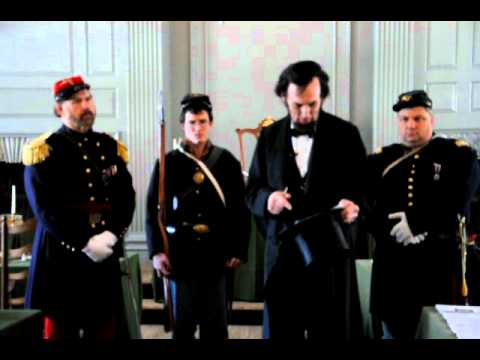 Abraham Lincoln at Independence Hall, February 22,1861