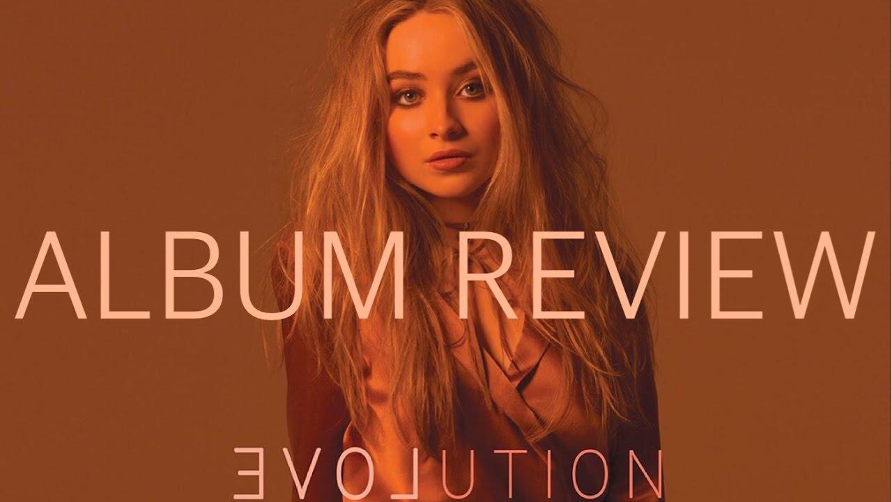 sabrina carpenter evolution album cover