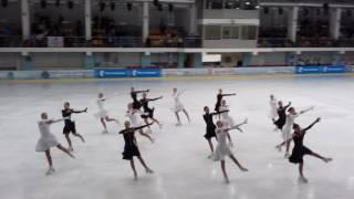Жемчужина-короткая программа-1й этап Кубка России-Москва-2016