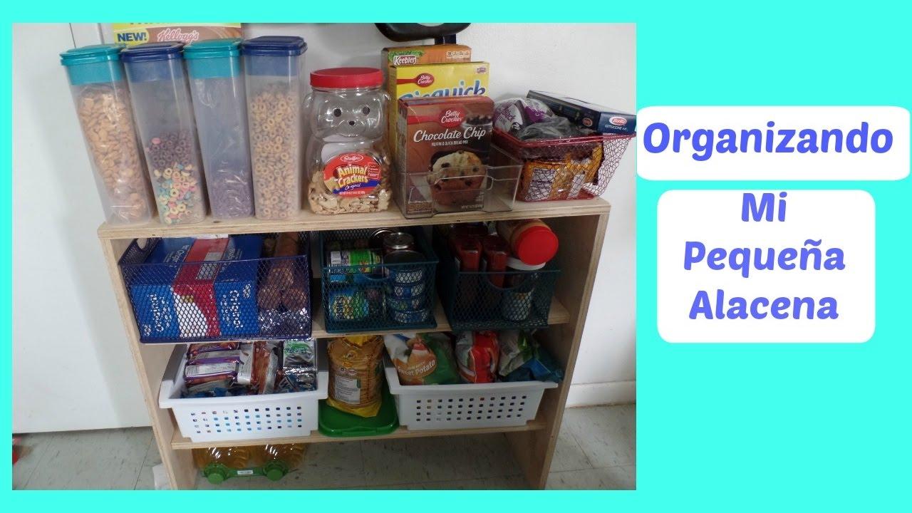 Organizando mi peque a alacena small pantry youtube for Como ordenar la cocina