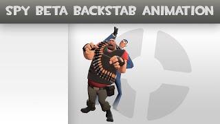 TF2 Prezentacja modow #1 - Beta Spy Backstab Animation