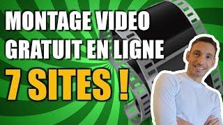 7 MEILLEURS SITES DE MONTAGE VIDEO EN LIGNE GRATUIT !