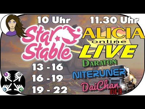 ALICIA ONLINE ★ STAR STABLE  - Charity Stream zur Tierhilfe  [Spenden für Tiere]