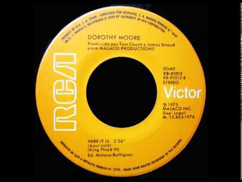 Dorothy Moore - Here It Is - RCA - 1976