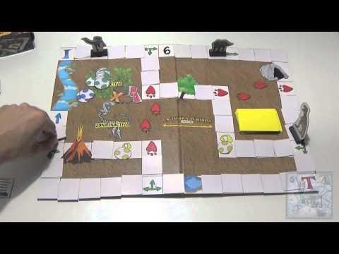 La tierra perdida juego de mesa rese a aprende a jugar for Viciados de mesa