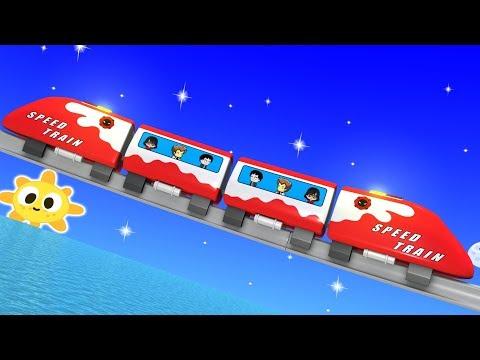 Toy Factory Train - Train Cartoon for Children - Kids Videos for Kids - Toy Train for kids - Trains