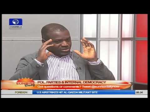 Sunrise Daily: Tola Odubajo Speaks on POL Parties and Internal Democracy PT1