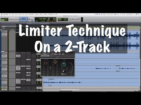 Limiter Technique on a 2 track Beat