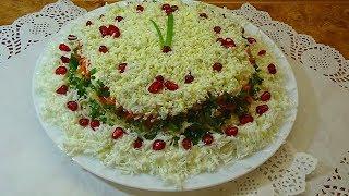 Салат с печенью трески  Простые и вкусные салаты