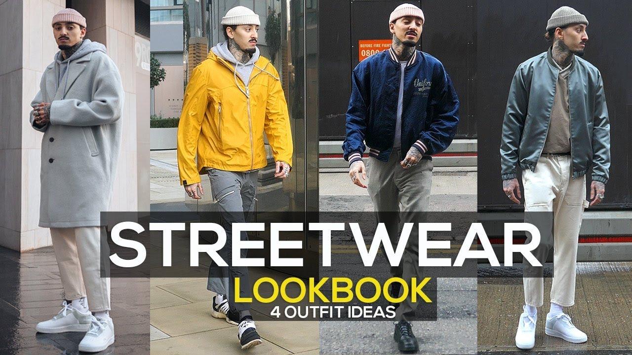 STREETWEAR LOOKBOOK 28  28 OUTFIT IDEAS  MENS FASHION