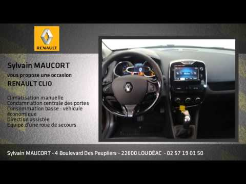 annonce occasion renault clio iv dci 90 energy eco2 zen 90g youtube. Black Bedroom Furniture Sets. Home Design Ideas