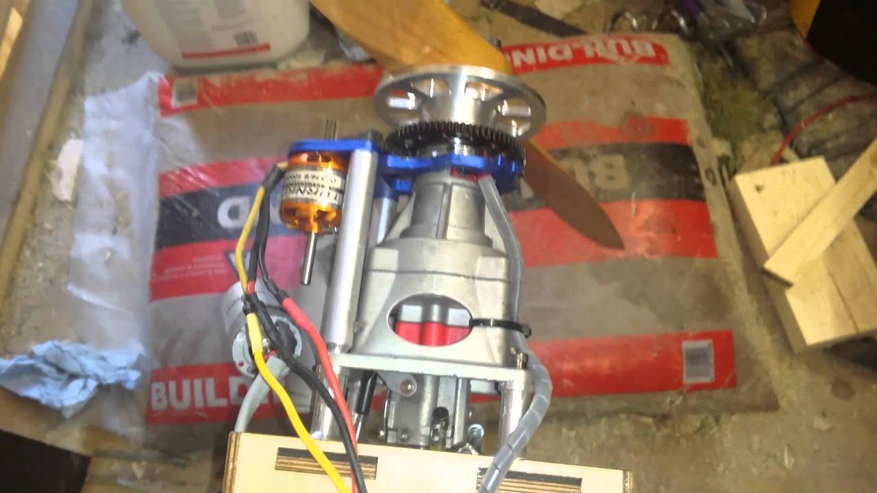 Eme 60cc electric start brushless turnigy 3536 8 1000kv for Velineon 3500 brushless motor rebuild kit
