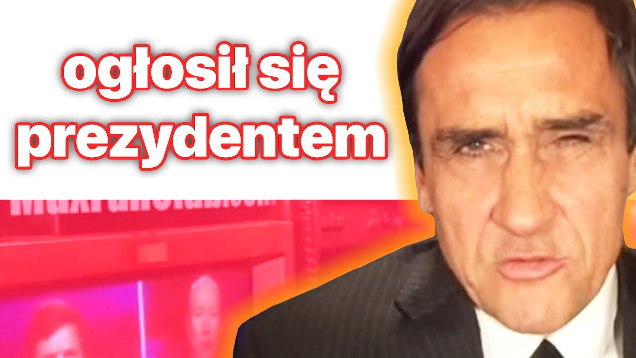mariusz m. kolonko ogłosił się prezydentem | HOPnews