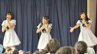 代々木公園ケヤキ並木渋谷側特設ステージ.