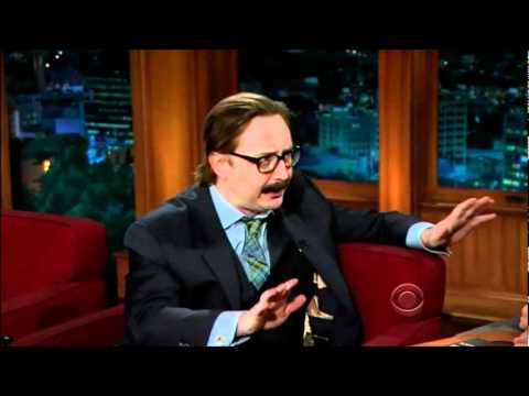 John Hodgman on the Late Late Show with Craig Ferguson 15/12/2011