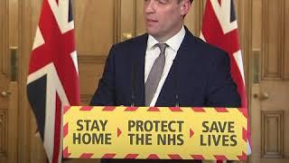 英国外交大臣对中国疫情透明度提出质疑