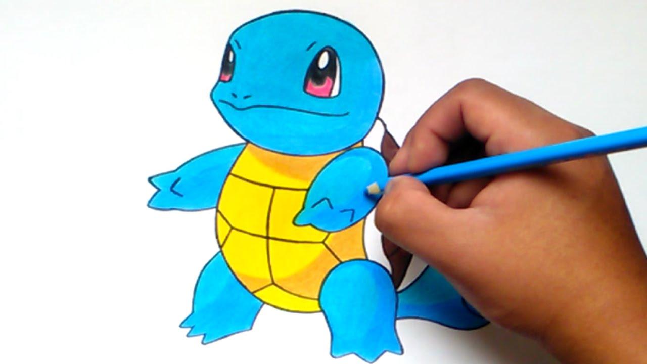 Cómo dibujar a Squirtle (Vamo a Calmarno) – How to draw Squirtle ...