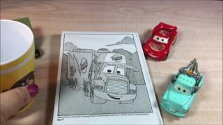 Magic Painting. Paint with water..  Paint Cars (Disney Pixar) with Granny B.