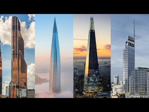 Top 10 Tallest Buildings In Europe 2021