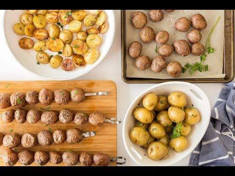 Little Potatoes 4 Ways