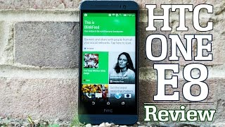 HTC One E8 Review!