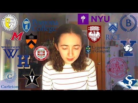 College Decision Reactions 2020!! (NYU, UChicago, Yale, Vanderbilt, + more)
