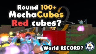 [Roblox] MechaCubes: WAVE 100+?!?! (WORLD RECORD) (RED CUBES?)