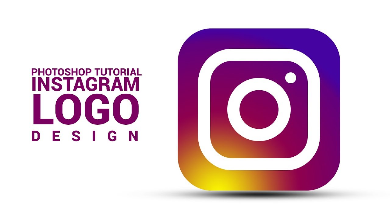 Photoshop Tutorial | Instagram Logo Design | In Hindi / Urdu
