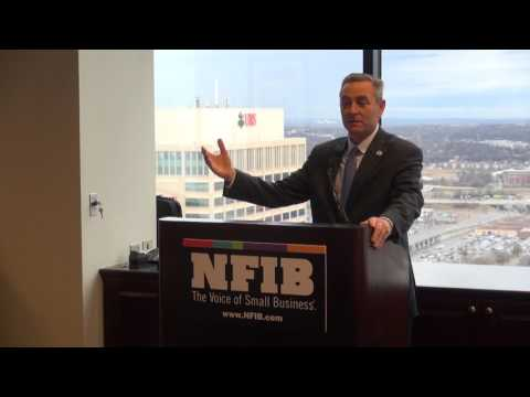 TN House Majority Leader Glen Casada at NFIB Small Business Day at the Capitol