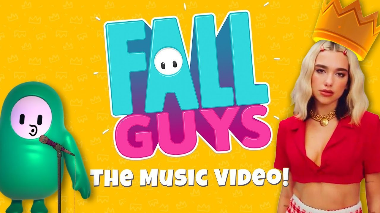 Fall Guys: Bonk My Head (Break My Heart by Dua Lipa Parody) | Girlfriend Reviews