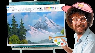 MSPAINT LIKE BOB ROSS