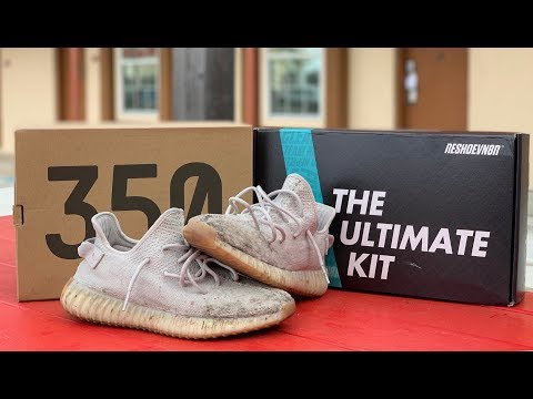 "Cleaning Yeezy Boost 350 V2 'Sesame' with Reshoevn8r ""THE ULTIMATE KIT"""