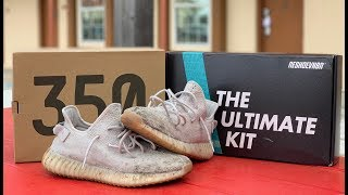 Cleaning Yeezy Boost 350 V2 'Sesame' with Reshoevn8r