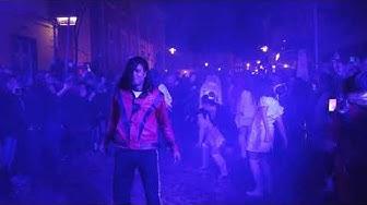 Halloween-Flashmob auf der Hammer Meile