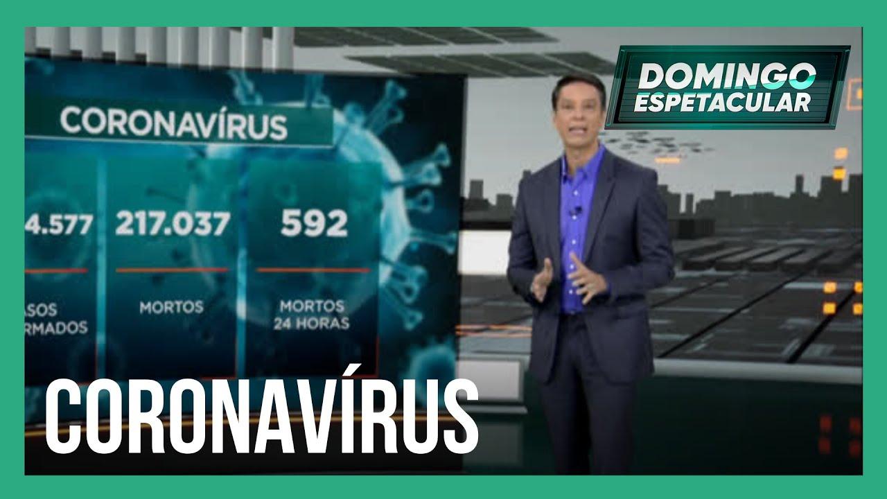 Brasil ultrapassa 217 mil mortes por covid-19