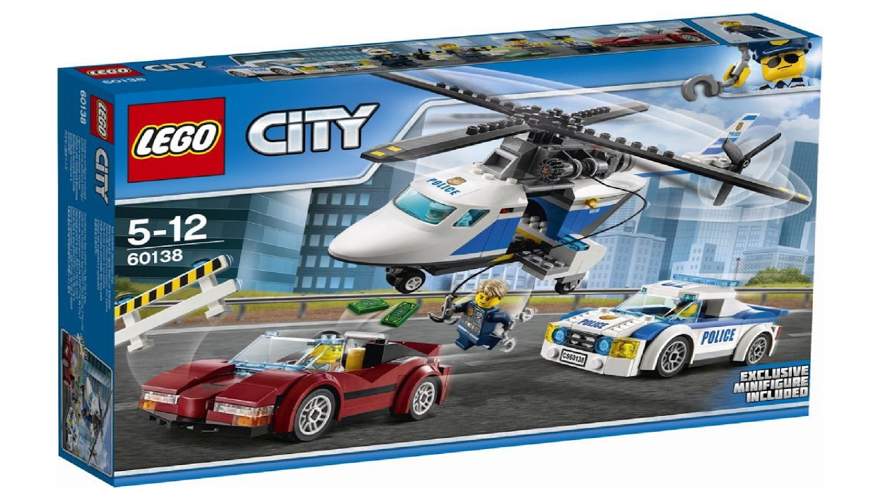 Lego City 60138 High Speed Chase Lego Speed Build Youtube