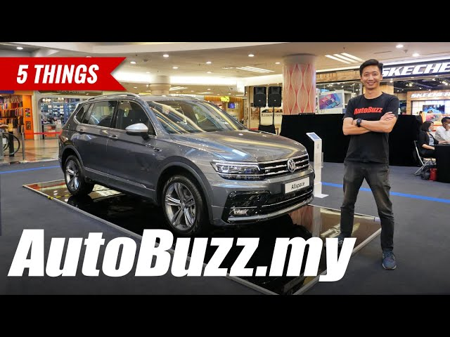 Volkswagen Tiguan Allspace R Line 5 Things Autobuzz My Youtube
